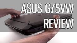 Asus G75VW review - Asus G75 gaming laptop tested