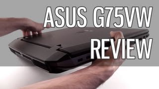 Asus G75VW review - Asus G75 gaming laptop tested