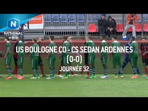 J32 : US Boulogne – CS Sedan Ardennes (0-0), le résumé