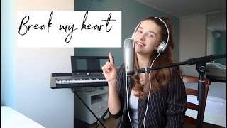 Download Lagu Dua Lipa - Break my heart Cover by Annie Bobrovska MP3