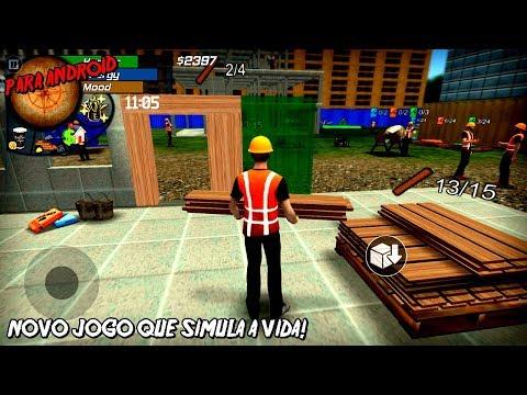 NOVO JOGO QUE SIMULA A VIDA REAL PARA ANDROID!  Big City Life Simulator