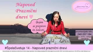 #ŠpelaSvetuje 15 - Napoved praznični dnevi