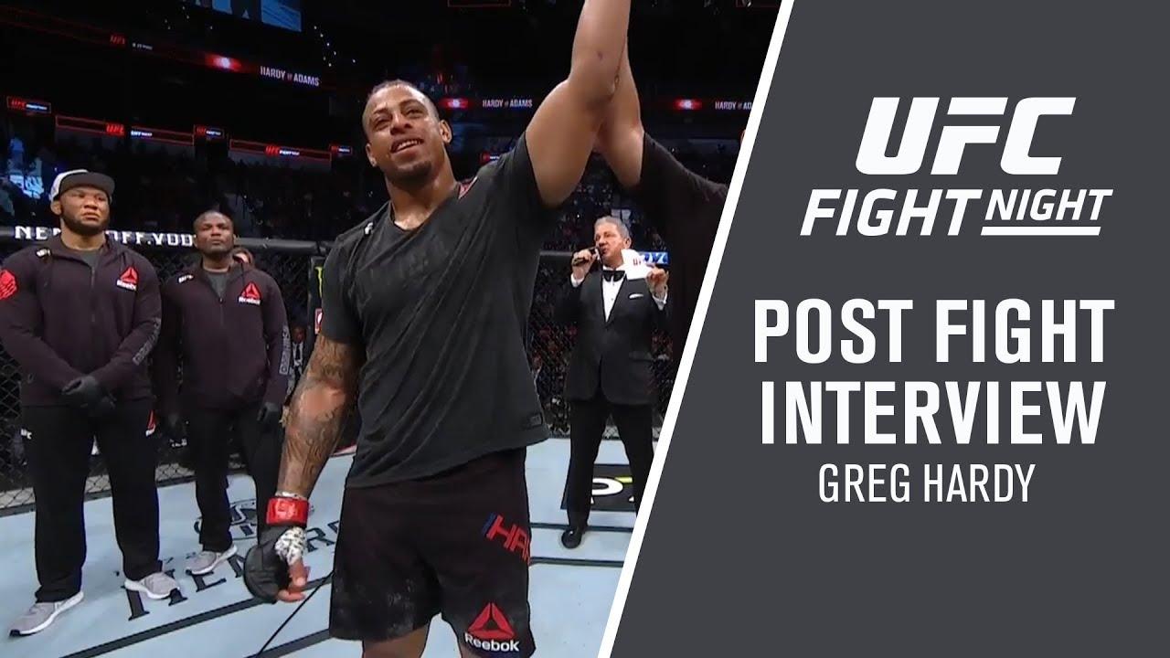 UFC San Antonio: Greg Hardy -