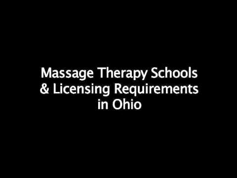 Ohio Requirements for Massage School and License