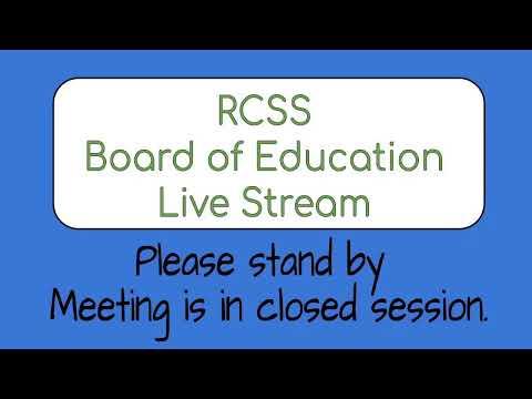 Board Of Education Meeting July 20, 2020