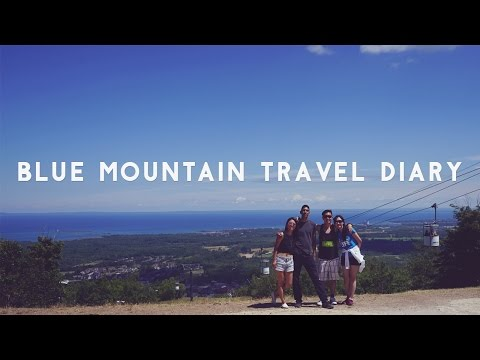 ✂ Blue Mountain Travel Diary - Paddleboard, Zipline, Cave Exploring