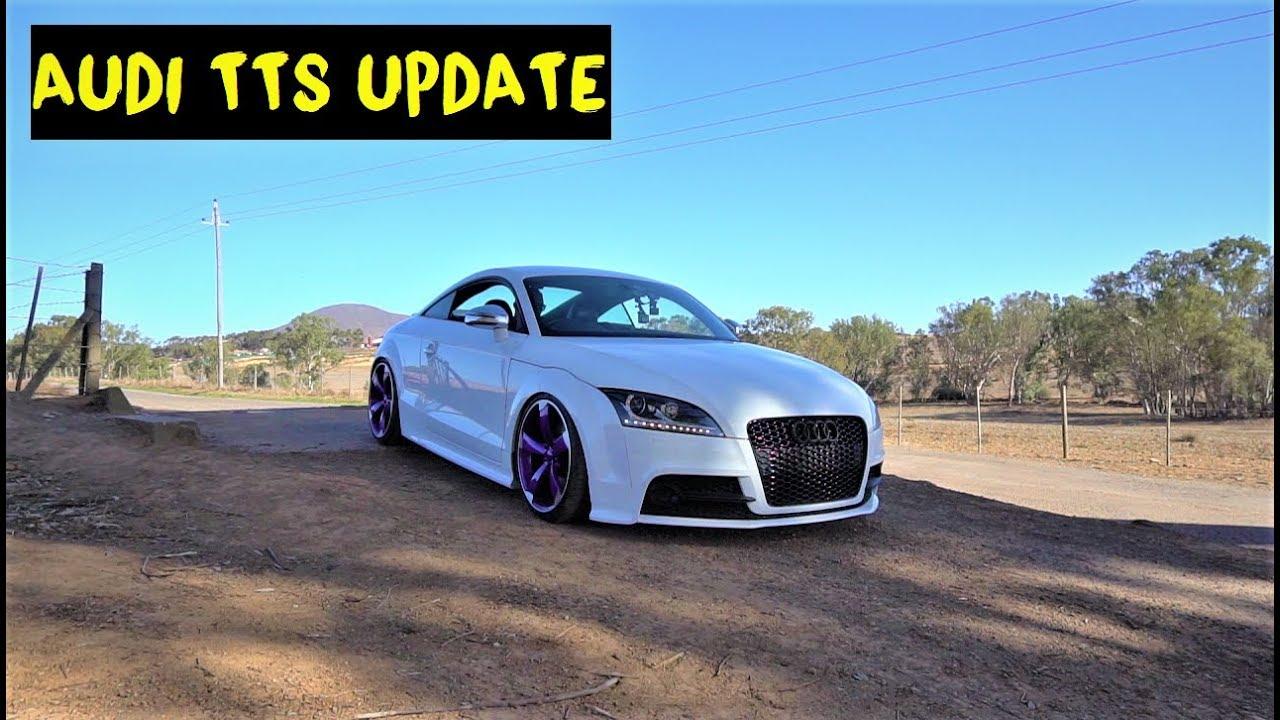 Audi TTS with 400+HP on standard internals! (UPDATE)