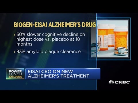 Eisai CEO on Alzheimer's treatment drug trial results