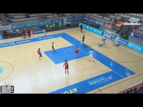 Gols SC Braga 1 x 4 Kairat Almaty - 2ª Rodada UEFA Futsal Cup 2017/2018 (24/11/2017)