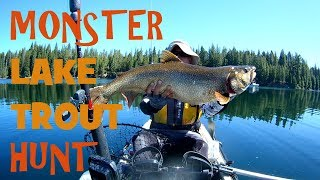 California Monster Lake Trout (Mackinaw)  Fishing on my Hobie Revolution