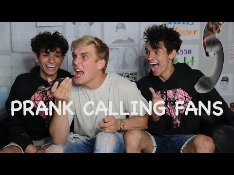 PRANK CALLING FANS PT.2 w/ Jake Paul