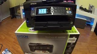 Epson WorkForce WF-3620 DWF Unboxing, Einrichtung und Testdurchläufe #3
