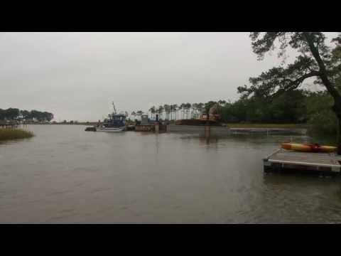 Craney's mitigation impact, new oyster reef in Hoffler Creek