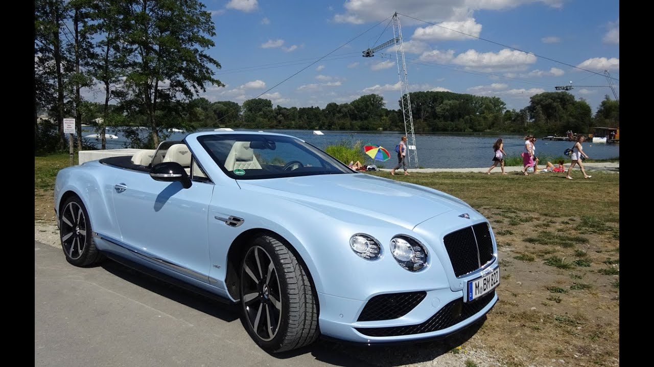2016 Bentley Continental GT V8 S Convertible - GTC Gran Turismo ...