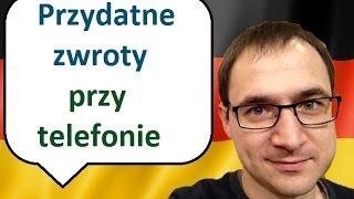 Przydatne zwroty przy telefonie - język niemiecki - nagranie audio - gerlic.pl