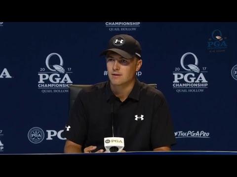 Jordan Spieth: 2017 PGA Championship Press Conference