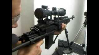 WE M14 EBR Long GBB Rifle out the box test.