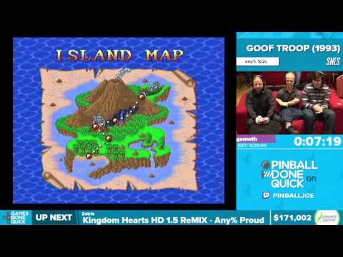 Goof Troop by Yagamoth in 23:29 - Awesome Games Done Quick 2016 - Part 26