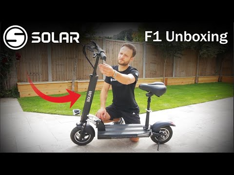 Solar Scooters: F1 Unboxing