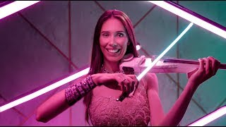 Neon light bow Stefaniya Violin