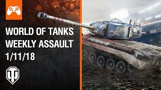 Console: World of Tanks Weekly Assault #35