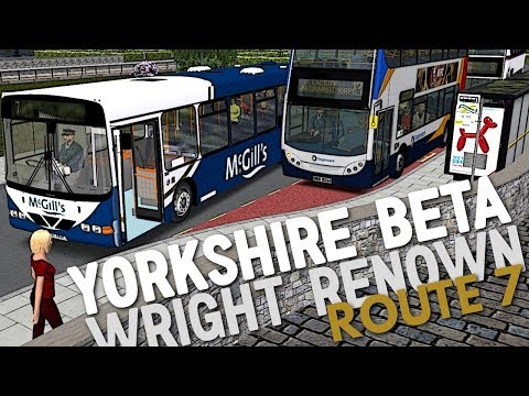 OMSI 2: Yorkshire Beta 1.4 - Route 7