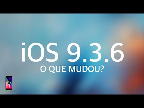 IOS 9.3.6 - O QUE MUDOU? (Atualização Do IOS 9)