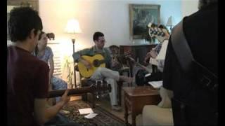 Tanguillo rehearsal Ruben Diaz with Bill Mc Birnie and friends