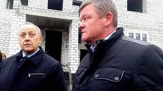Губернатор возмущен темпами строительства детсада в Солнечном