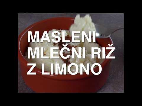 Masleni mlečni riž z limono