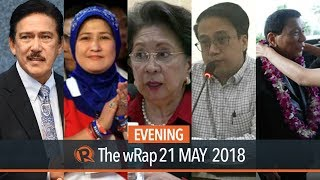 Sotto is Senate President, Morales' 2017 net worth, PH on Chinese bombers   Evening wRap