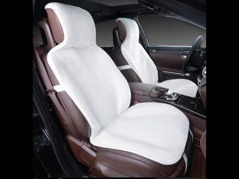 Меховые накидки на сиденья автомобиля  Натуральная шерсть!