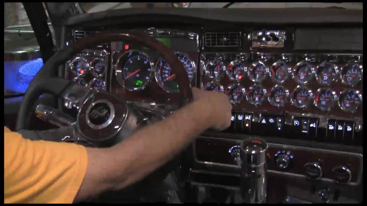 empire chrome shop chrome time episode 7 kenworth dash chrome [ 1280 x 720 Pixel ]