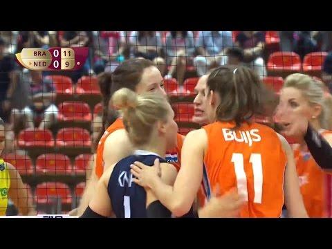 Brazil vs Netherlands / Semifinals / Group 1 / 09 Jul / FIVB Volleyball World Grand Prix 2016