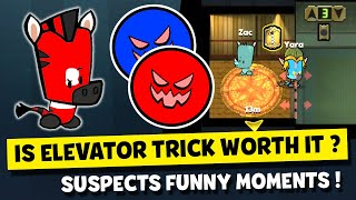 IS ELEVATOR TRICK WORTH USING IN BOOGEY MONSTER MODE? SUSPECTS MYSTERY MANSION FUNNY MOMENTS #41 screenshot 4