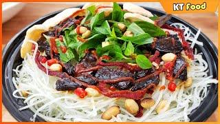 Bí Quyết Làm Gỏi Đu Đủ Khô Bò Gan Cháy Ngon Ngất Ngây Hot Nhất Sài Gòn - Green Papaya Salad