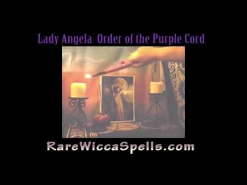 How to Cast a Circle for Magick Wicca Spells Rituals Part 1 with Angela  McAlister