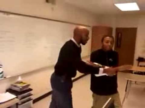 kid vs teacher Fight