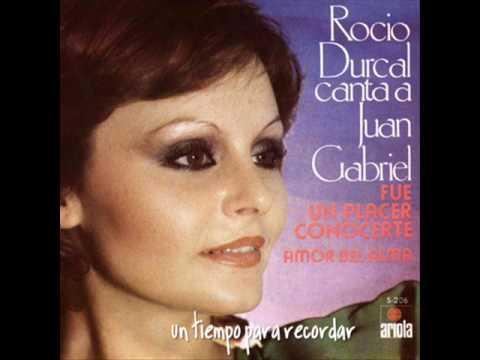 ROCIO DURCAL, FUE UN PLACER CONOCERTE (1977)