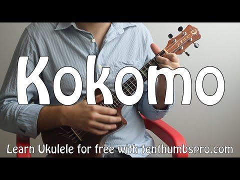Kokomo - Beach Boys - Ukulele Tutorial How to play Songs