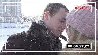 Съемки клипа про любовь -