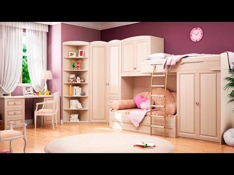 Стандартные размеры детской мебели.
