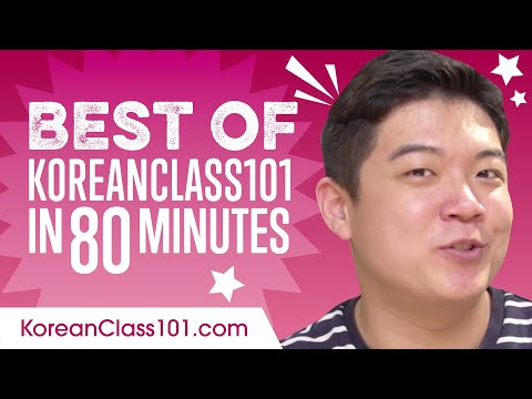 Learn Korean with the Best of KoreanClass101