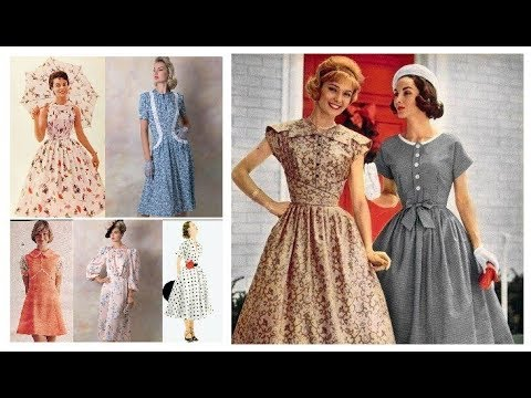 Vintage Outfit Ideas 2019-20=Vintage Dresses 50s Style=Retro Style Women's Clothing
