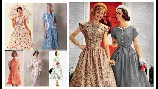 Vintage Outfit Ideas 2018-19=Vintage Dresses 50s Style=Retro Style Women's Clothing