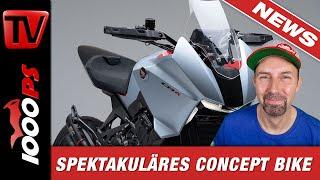 Neues Honda 650 Crossover Motorrad schon 2021 - Leiwande Studie auf der EICMA - CB4X Concept