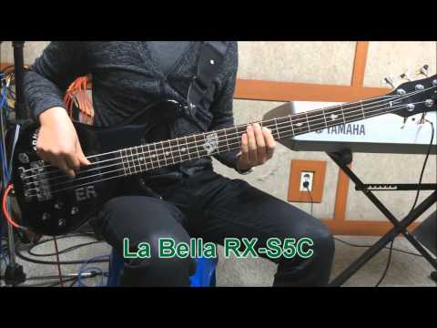 La Bella RX series string sample