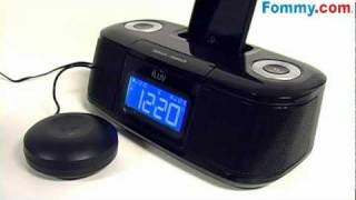 Iluv Shake & Wake Dual Alarm Clock For Ipod