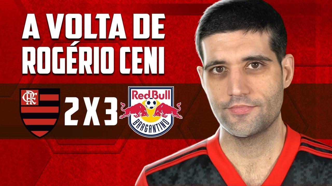 Flamengo 2 x 3 RB Bragantino, a GRANDE VOLTA de Rogerio Ceni