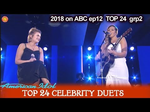 """Maddie Poppe and Colbie Caillat Duet """"Bubbly""""  Top 24 Celebrity Duets American Idol 2018"""